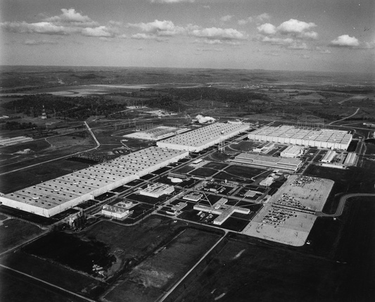 The Portsmouth Gaseous Diffusion Plant, United States