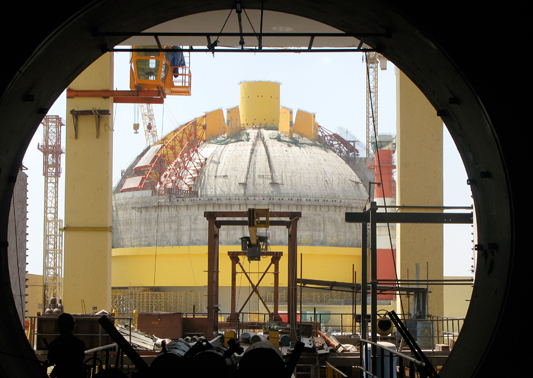A Fast-Breeder Test Reactor at the Kalpakkam Nuclear Complex, India. Photo Credit: Kirstie Hansen / IAEA Image Bank